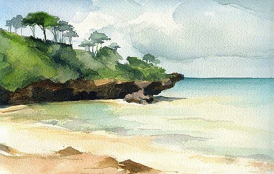 Mombasa Beach by Stephanie Aarons