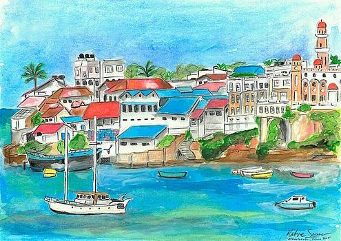 Mombasa Town by Katie Sasser