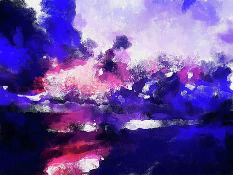 Moment In Blue Major by Cedric Hampton