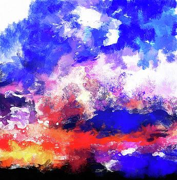 Moment In Blue Sunrise by Cedric Hampton