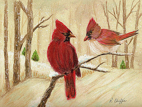 Mom's Favorite Redbirds by Robin Chaffin