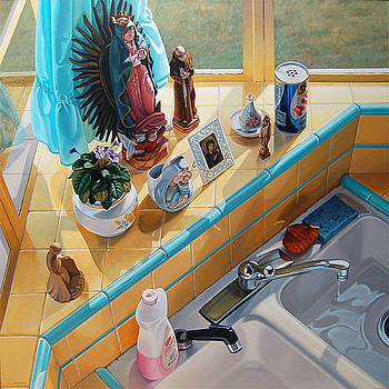 Mom's Kitchen by Johanna Girard