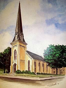Monumental United Methodist Church. Portsmouth Va by Raymond Edmonds