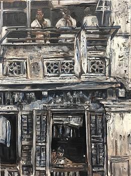 Mon Vieux Quartier by Belinda Low