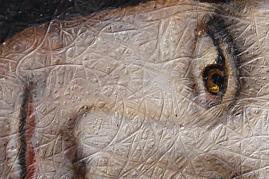 Mona In fiber by Angel Ortiz