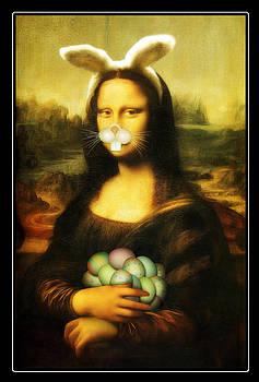 Gravityx9  Designs - Mona Lisa Bunny