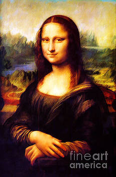 Mona Lisa by D Fessenden
