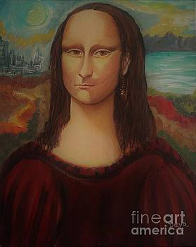 Mona Lisa by Deyanira Harris