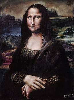 Mona Lisa by Leeann Stumpf