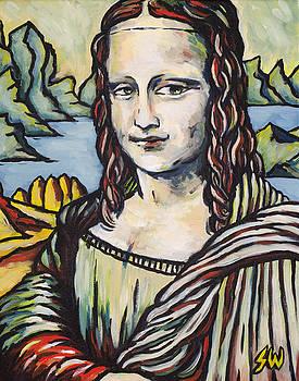 Mona Lisa Tribute by Sean Washington