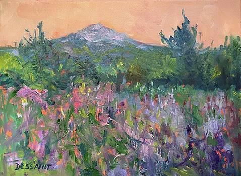 Monadnock in Bloom by Linda Dessaint