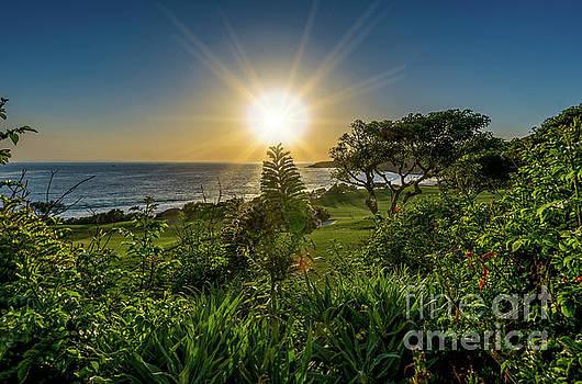 Monarch Beach Links Sunset by Gregory Schaffer