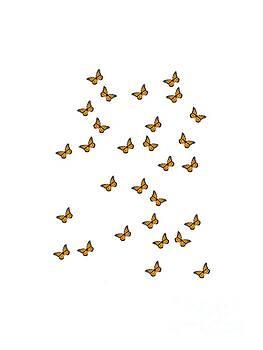 Monarch Butterflies T-Shirt by Sharon K Shubert