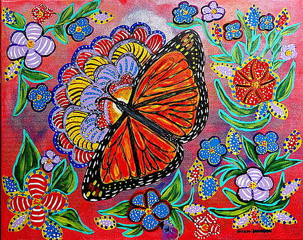 Gina Nicolae Johnson - Monarch butterfly