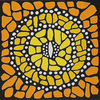Monarch Mandala by Charlotte Backman