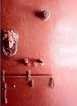 Monastery Door by Olia L