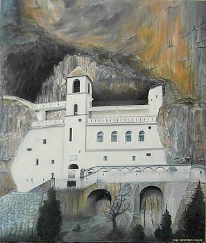 Monastery OSTROG by Marko Lulic