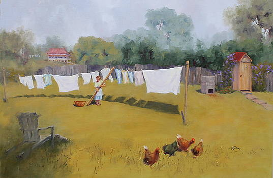 Marie Green - Monday Washday