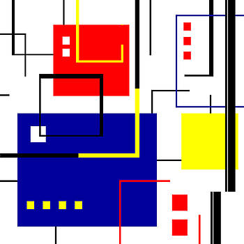 Tara Hutton - Mondrian Redux