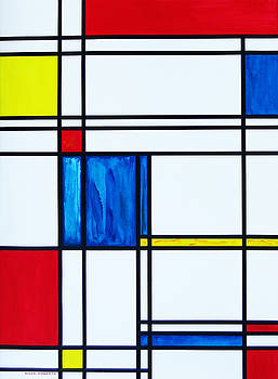 Mondrian's Cat by Eve Riser Roberts