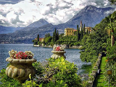 Villa Monestero at Lake Como, Italy by Edward Coumou