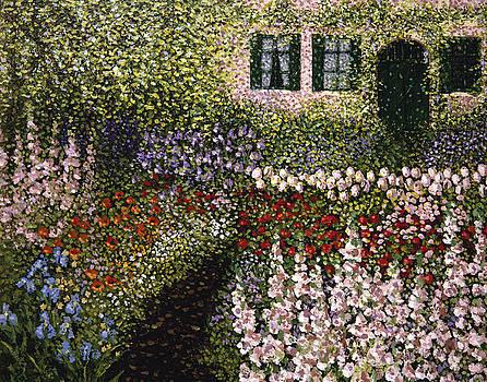 Monet Garden 7 by Patrick Antonelle