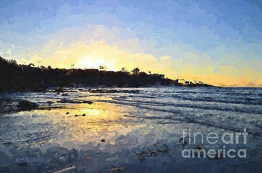 Sharon Tate Soberon - Monet Sunset at La Jolla Shores