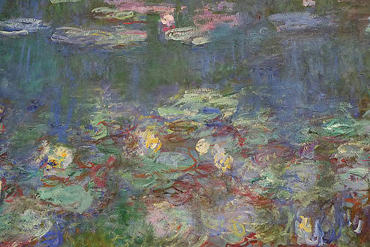 Monet Water Lilies by August Timmermans