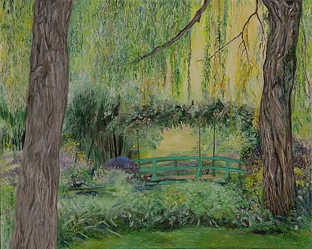 Monet's Bridge by Kathy Knopp
