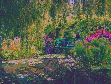 Monet's Bridge by Lisa Wolfin