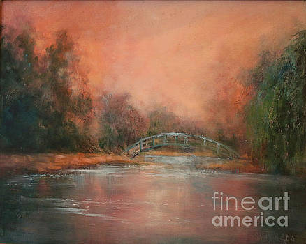Monet's Bridge by Sally Seago