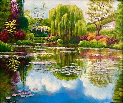 Monet's Garden by Barbara Rockhold