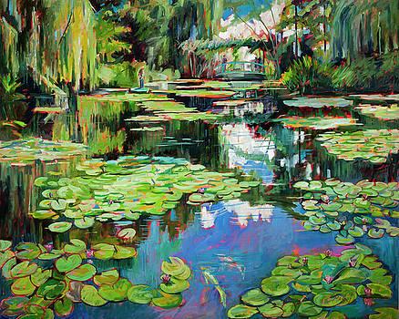 Monets Garden by Marie Massey