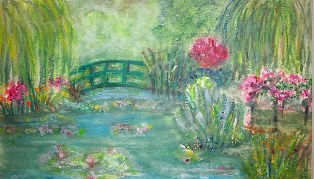 Monet's Garden by Sandra McClure