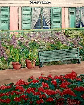 Monet's Home by Irving Starr