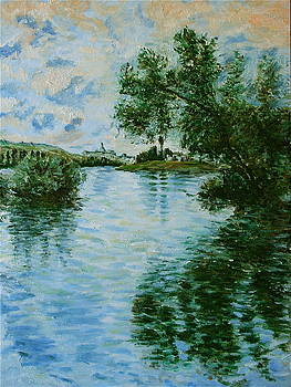 Monet's The Seine at Vetheuil by Dan Koon