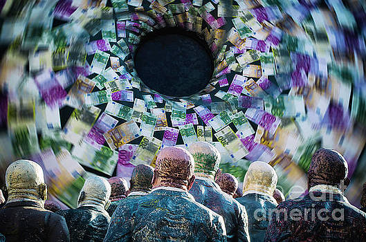 Money Vortex by Alessandro Giorgi Art Photography