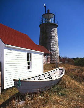 Monhegan Island Light by Steven David Roberts