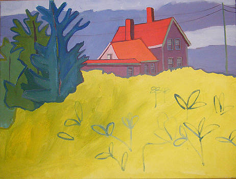 Monhegan Light by Debra Bretton Robinson