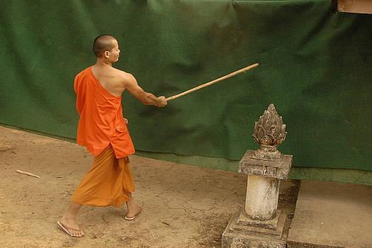 Monk Stick by Timothy Leonard