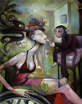 Monkey College by Adam Strange