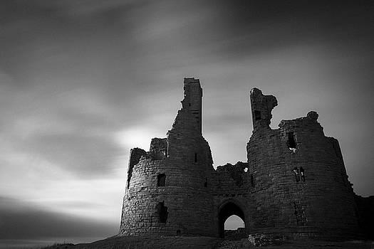 Mono castle walls by David Taylor