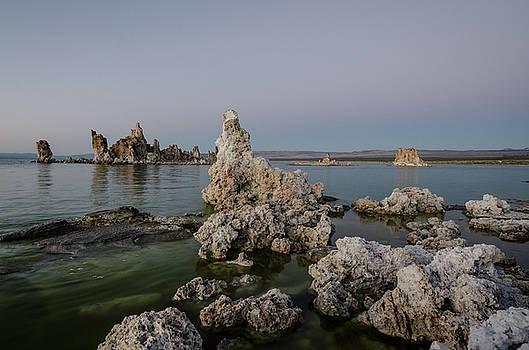 Margaret Pitcher - Mono Lake at Dusk