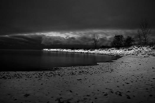 Monochromatic Shore by Leo Bello