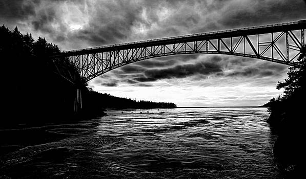 Monochrome Bridge by Rick Lawler