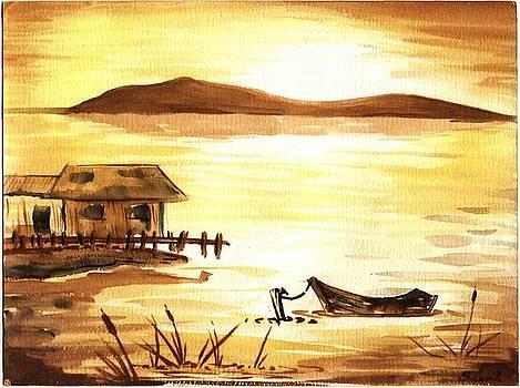 Monochrome Lake by Stephen Casals