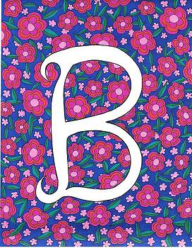 Monogram B by Roberta Dunn