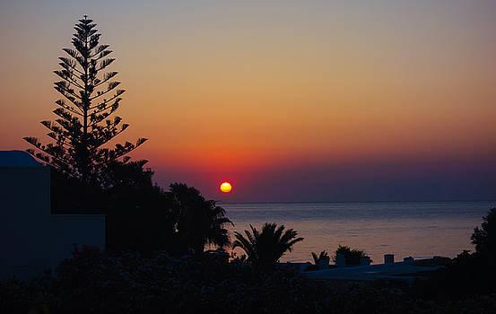 Monolithos Sunrise 2 by Matti Ollikainen