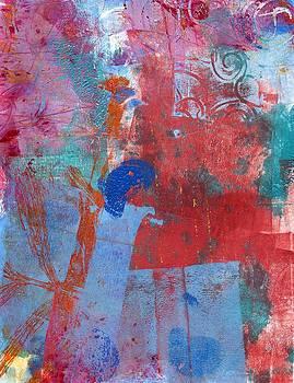 Monoprint by Dawn Dreibus