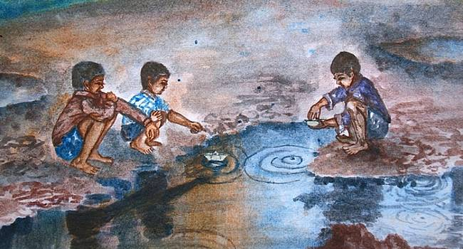 Monsoon Children by Shashikanta Parida